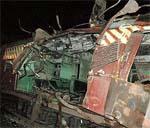 A view of Mumbai train bombing