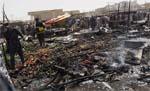 A view of the Yazidi-Communities-Bombing