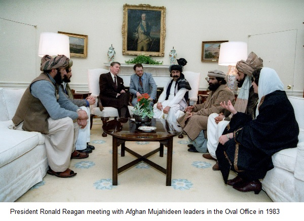 reagan-mujahideen